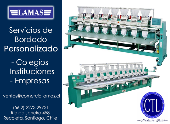 bordados empresariales chile