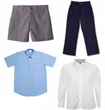 uniformes de colegios