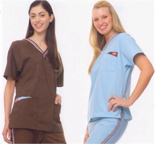 uniformes de enfermera Comercial y Textil Lamas Santiago, Chile